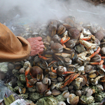 Clambake at S'Klallam Tribe